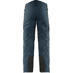 Fjällräven Bergtagen Pantalones Eco-Shell Hombre, mountain blue